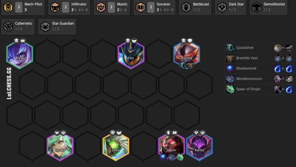 10.15 Teamfight Tactics Tier List Meta Comps